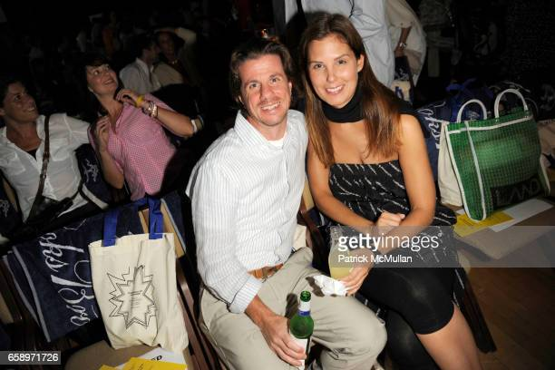 Patrick D'Angelo and Melissa Skoog attend THE WATERMILL CONCERT 2009 'Last Song of Summer' at Filed House of Ross School on August 29 2009 in...