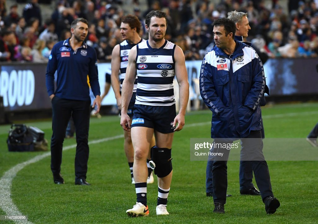 AFL Rd 7 - Geelong v Essendon : News Photo