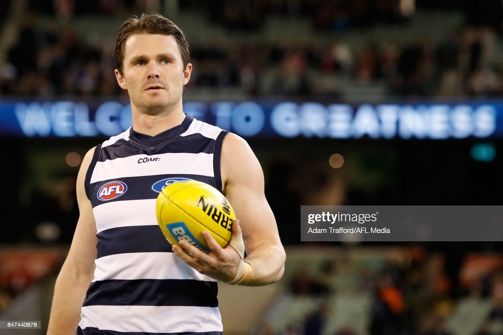 AFL 2017 Second Semi Final - Geelong v Sydney : News Photo