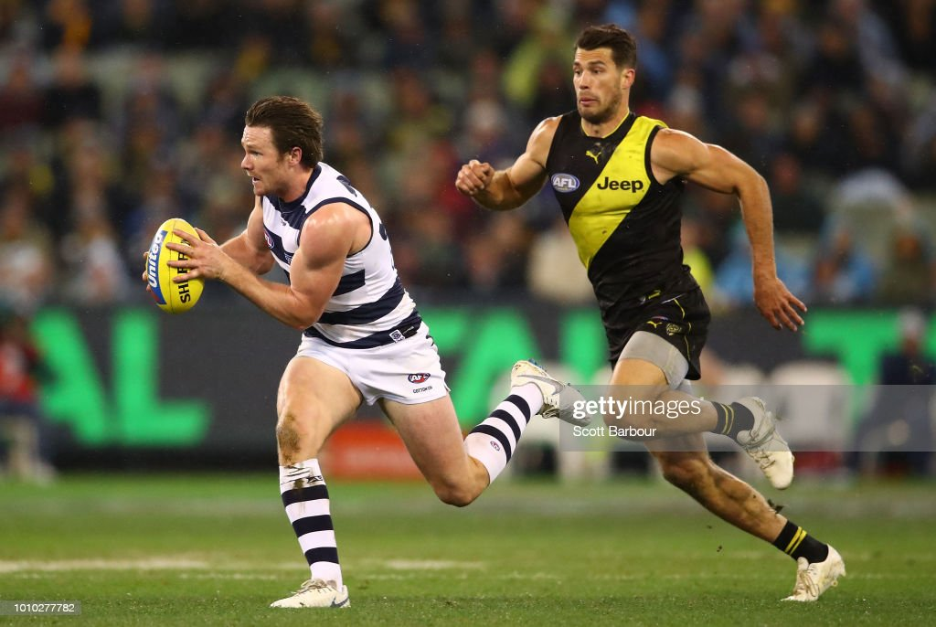 AFL Rd 20 - Richmond v Geelong : News Photo