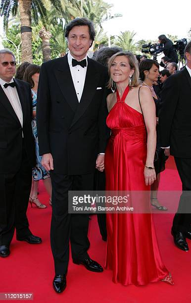 Patrick de Carolis and Carol Ann Hartpence during 2007 Cannes Film Festival Opening Night Gala and World Premiere of My Blueberry Nights Arrivals at...