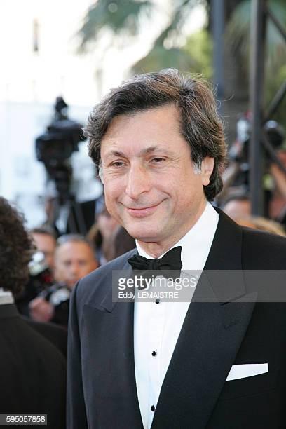 Patrick de Carolis arrives at the premiere of 'Zodiac' during the 60th Cannes Film Festival
