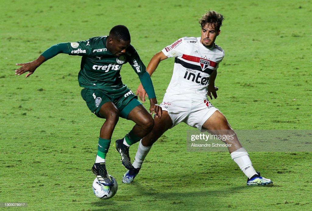 Brasileirao Series A: Sao Paulo v Palmeiras Play Behind Closed Doors Amidst the Coronavirus (COVID - 19) Pandemic : News Photo