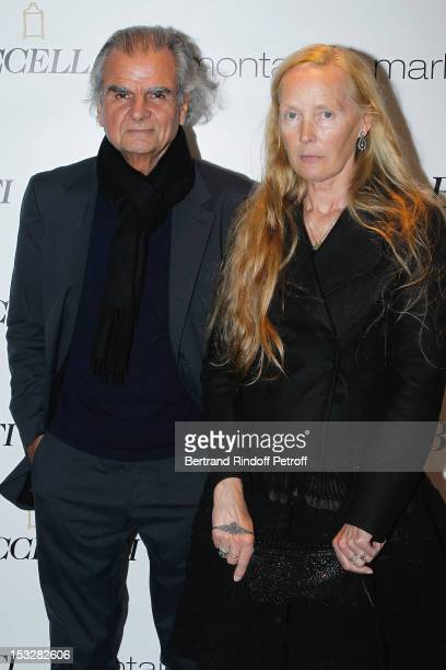 Patrick Demarchelier and his wife Mia Demarchelier attend the Buccellati Blossom Butterfly and Daisy new collection presentation with the 4th...