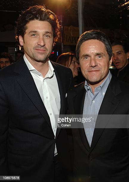 Patrick Dempsey and Brad Grey Chairman and CEO Paramount Motion Picture Group