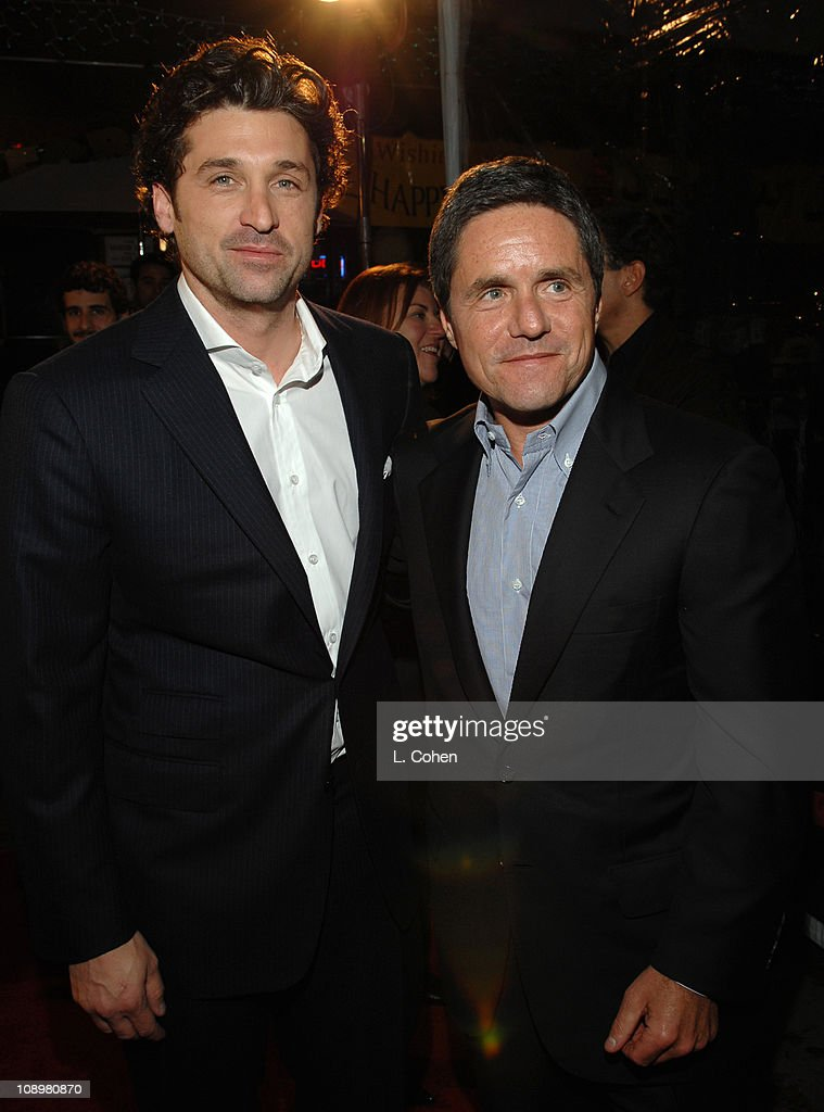 Patrick Dempsey And Brad Grey Chairman And Ceo Paramount Motion