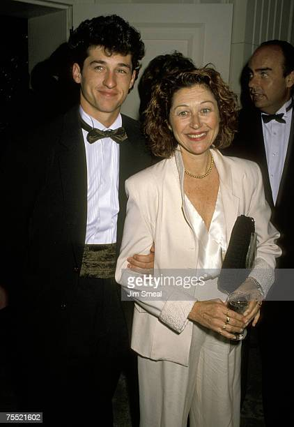 Patrick Dempsey and Rocky Parker at the Beverly Hilton Hotel in Beverly Hills California
