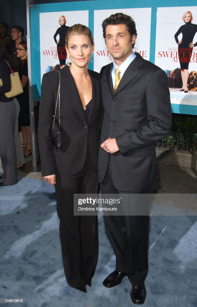 Patrick Dempsey And Wife During Sweet Home Alabama Premiere New