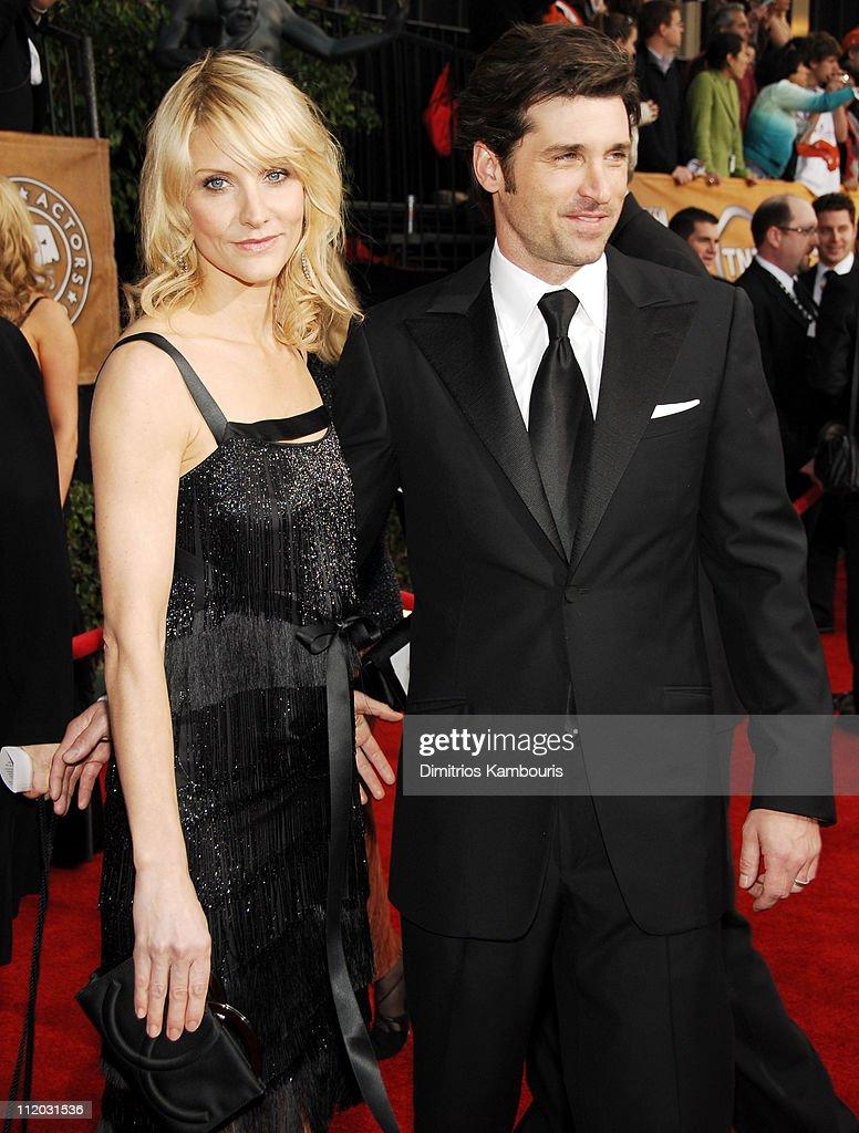 Patrick Dempsey And Wife Jillian Dempsey 10618dk0180jpg