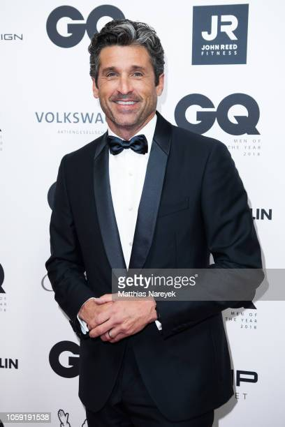 Patrick Dempsey arrives for the 20th GQ Men of the Year Award at Komische Oper on November 8, 2018 in Berlin, Germany.