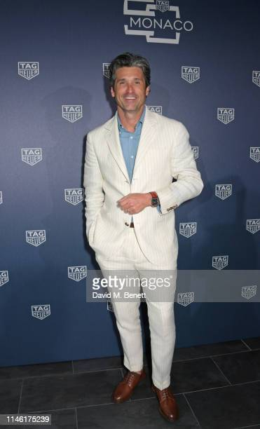 Patrick Dempsey attends an intimate dinner hosted by TAG Heuer kicking off the Monaco Formula 1 Grand Prix weekend by unveiling the Monaco 1969-1979...