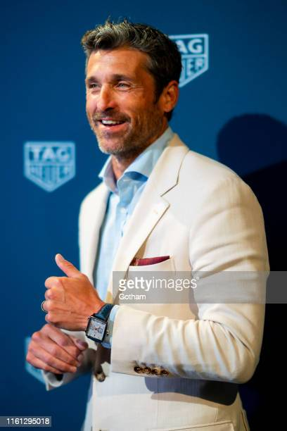 Patrick Dempsey attends TAG Heuer Celebrates 50 Years of the iconic Monaco Timepiece at Cipriani Broadway on July 10 2019 in New York City