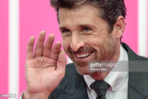 Patrick Dempsey attends the 'Bridget Jones Baby' German Premiere in Berlin at Zoo Palast on September 7, 2016 in Berlin, Germany.