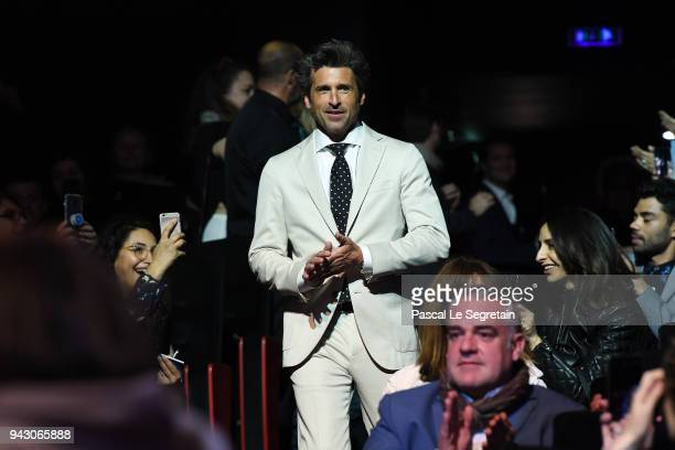 Patrick Dempsey attends the Launch of the Official Competition and The Truth About The Harry Quebert Affair screening during the 1st Cannes...