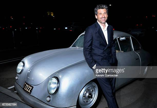 Patrick Dempsey attends the opening of the Porsche Experience Center Los Angeles on November 15, 2016 in Carson, California.