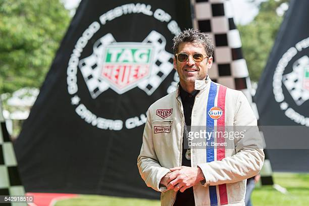 Patrick Dempsey attends the TAG Heuer Drivers Club at the Goodwood Festival Of Speed on June 25 2016 in Chichester England