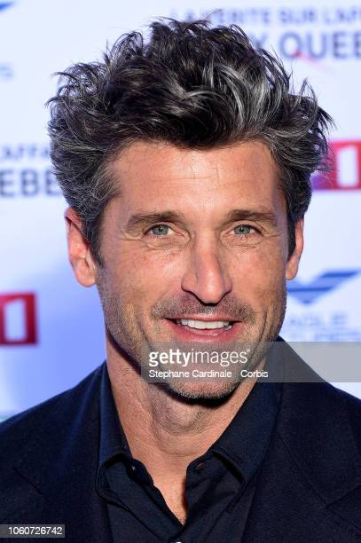 Patrick Dempsey attends 'The Truth About The Harry Quebert Affair' Premiere at Cinema Gaumont Marignan on November 12 2018 in Paris France