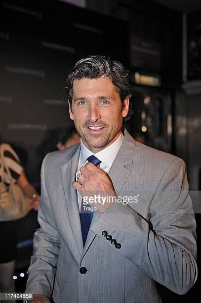 Patrick Dempsey attends Transformers3: Dark of the Moon Paris Premiere at Le Grand Rex on June 26, 2011 in Paris, France.