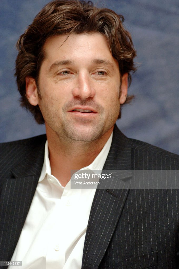 Patrick Dempsey during 'Grey's Anatomy' Press Conference with Ellen Pompeo, Patrick Dempsey, Sandra Oh, Katherine Heigl, Justin Chambers, Sara Ramirez, Kate Walsh and Isaiah Washington at Regent Beverly Wilshire in Beverly Hills, California, United States.