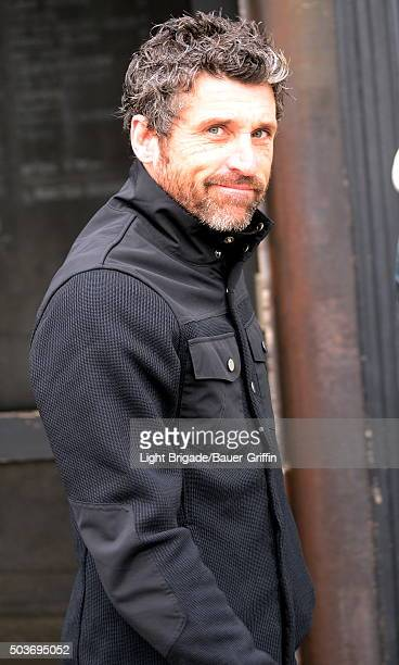 Patrick Dempsey is seen in Venice Ca on January 06 2016 in Los Angeles California