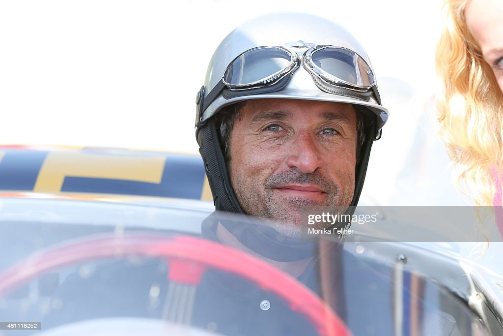 Patrick Dempsey participates at the Ennstal Classic 2015 on July 17, 2015 in Groebming, Austria.