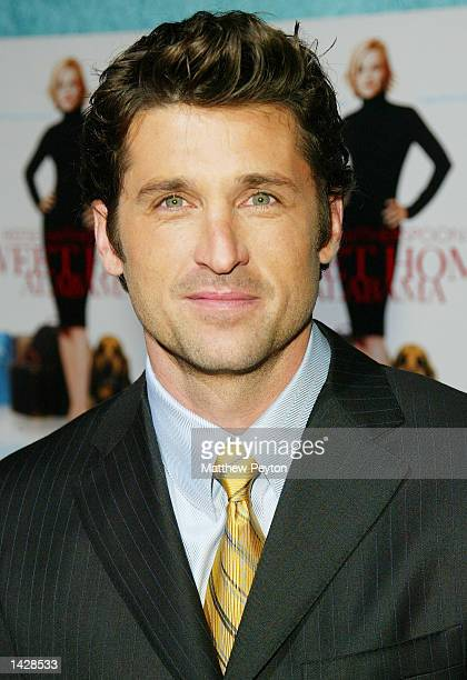 Patrick Dempsey poses at the world premiere of Touchstone Pictures' Sweet Home Alabama at the Chelsea West Cinema September 23 2002 in New York City...