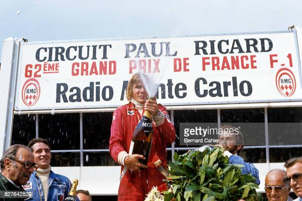 Patrick Depailler, James Hunt, John Watson, Grand Prix of France, Paul Ricard, 04 July 1976.