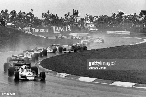 Patrick Depailler Ronnie Peterson Niki Lauda Didier Pironi TyrrellFord 008 LotusFord 79 Brabham BT46A Grand Prix of Austria Osterreichring 13 August...