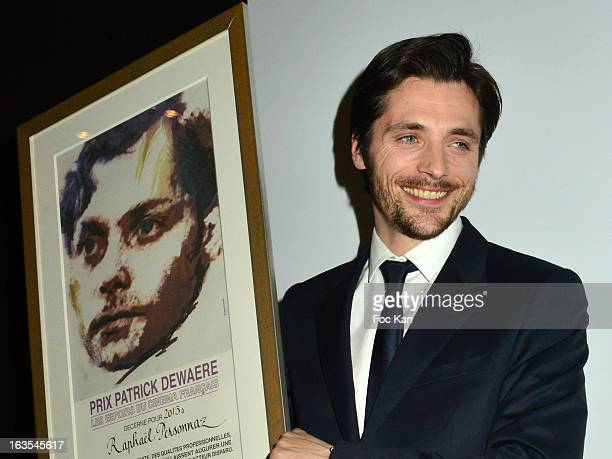 Patrick Dewaere 2013 awarded actor Raphael Personnaz attends the Romy Schneider And Patrick Dewaere Awards 2013 Ceremony at the Park Hyatt Paris...