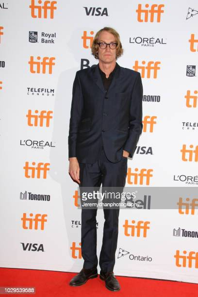 Patrick Dewitt attends the 'The Sisters Brothers' Premiere during the 2018 Toronto International Film Festival at Princess of Wales Theatre on...