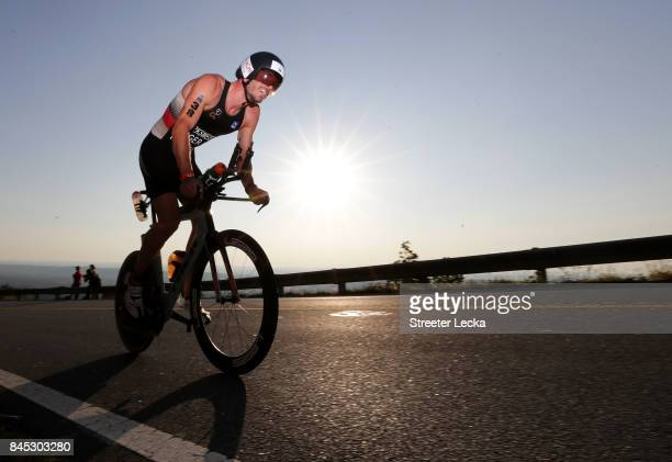 Patrick Dirksmeier of Germany competes in the IRONMAN 703 Men's World Championship on September 10 2017 in Chattanooga Tennessee