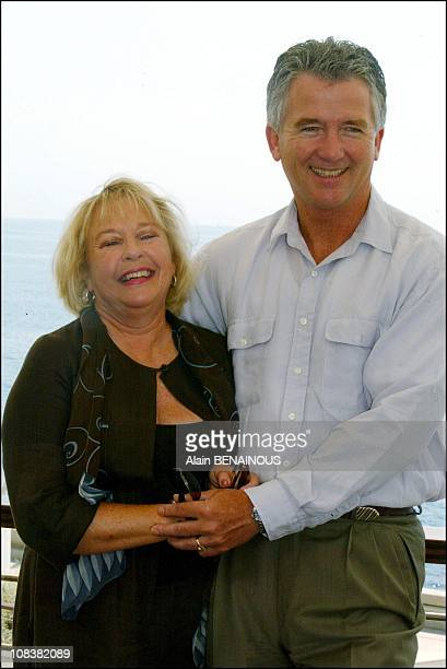 Patrick Duffy and his wife present ' Our beautiful family' in Monaco on July 03 2002