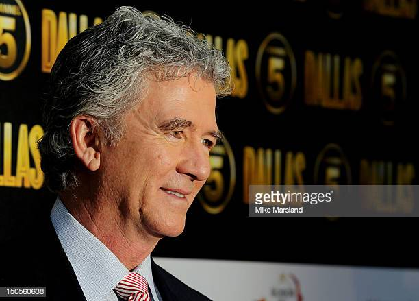 Patrick Duffy attends a party to celebrate the new Channel 5 television series of 'Dallas' at Old Billingsgate on August 21 2012 in London United...