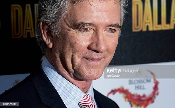 Patrick Duffy attends the Channel 5 Dallas Launch Party at Old Billingsgate Market on August 21 2012 in London England