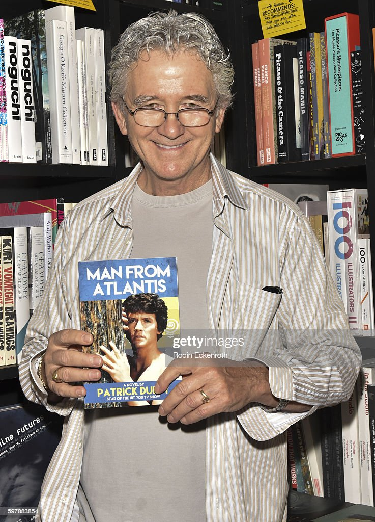 "Patrick Duffy Book Signing For ""Man From Atlantis"""