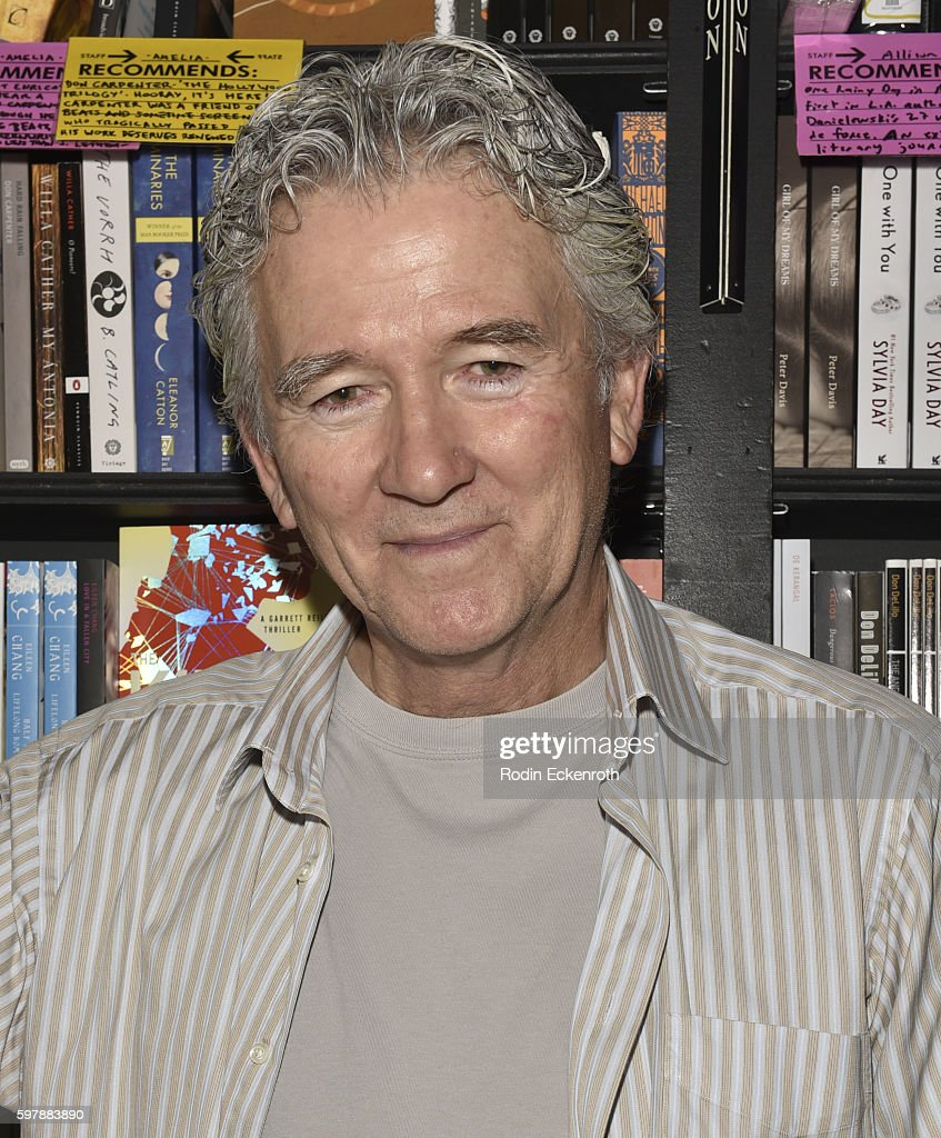 Patrick Duffy poses for portrait at book signing for Man