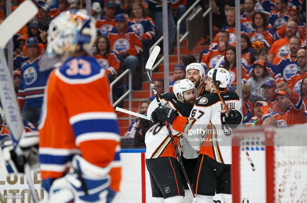 Anaheim Ducks v Edmonton Oilers - Game Three