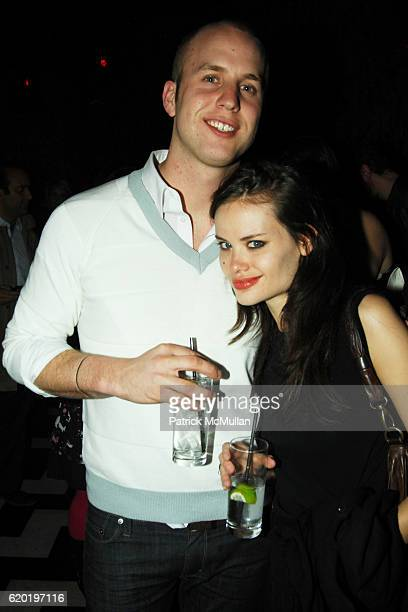 Patrick Emmanuel and Kristina Ratliff attend BLACKBOOK'S May Design Issue Release Party at 1 OAK on April 16 2008 in New York City