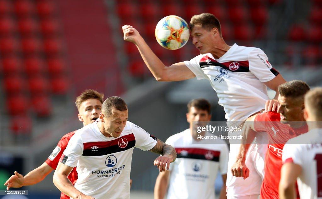 FC Ingolstadt v 1. FC Nürnberg - 2. Bundesliga Playoff Leg Two : News Photo