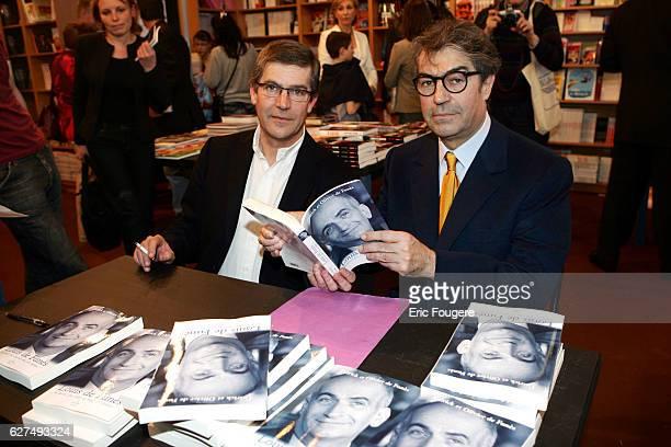 Patrick et Olivier de Funes at the 25th Salon du Livre held in Paris