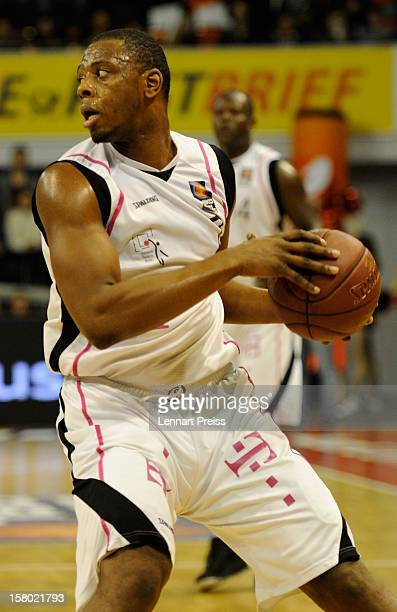 Patrick Ewing Jr of Bonn in action during the Beko Basketball match between FC Bayern Muenchen and Telekom Baskets Bonn at AudiDome on December 9...