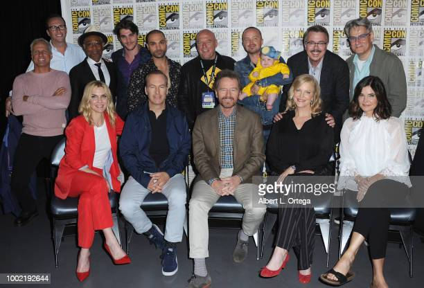 Patrick Fabian AMC's Charlie Collier Giancarlo Esposito RJ Mitte Michael Mando Dean Norris Aaron Paul with daughter Story Paul Vince Gilligan and...