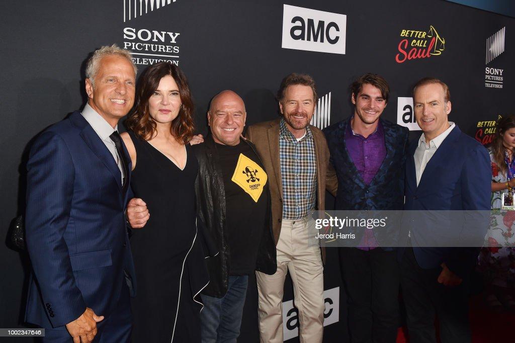 AMC's 'Better Call Saul' Season 4 Premiere - Arrivals : News Photo