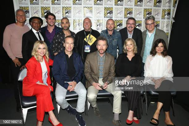 Patrick Fabian, Giancarlo Esposito, RJ Mitte, Michael Mando, Dean Norris, Aaron Paul, Vince Gilligan, and Peter Gould, Rhea Seehorn, Bob Odenkirk,...