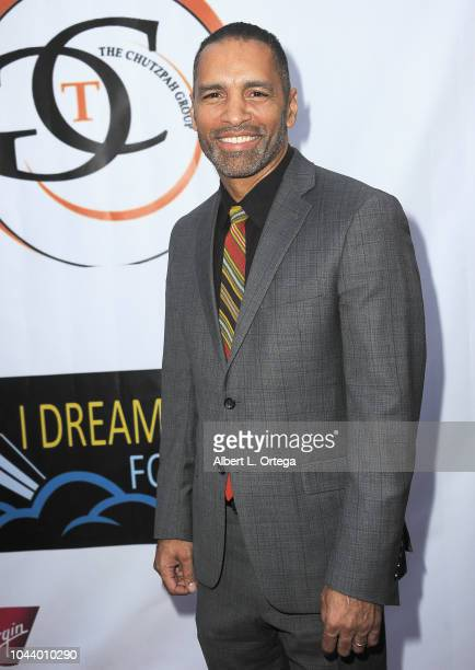 Patrick Faucette arrives for 2nd Annual HAPAwards held at Alex Theatre on September 30 2018 in Glendale California