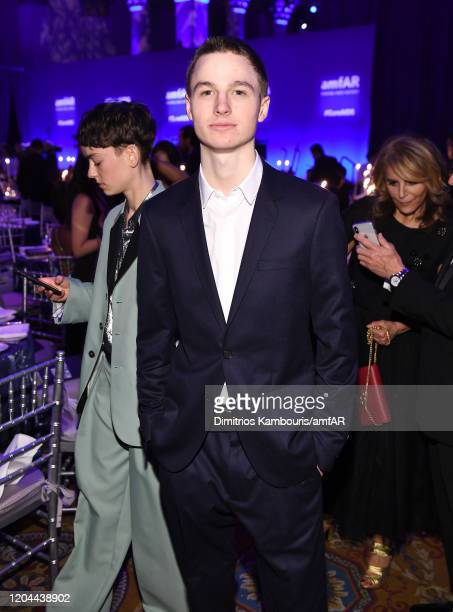 Patrick Finnegan attends the 2020 amfAR New York Gala at Cipriani Wall Street on February 05 2020 in New York City