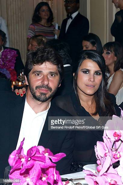 Patrick Fiori and Karine Ferri attend 'Global Gift Gala' at Hotel George V on May 13 2013 in Paris France