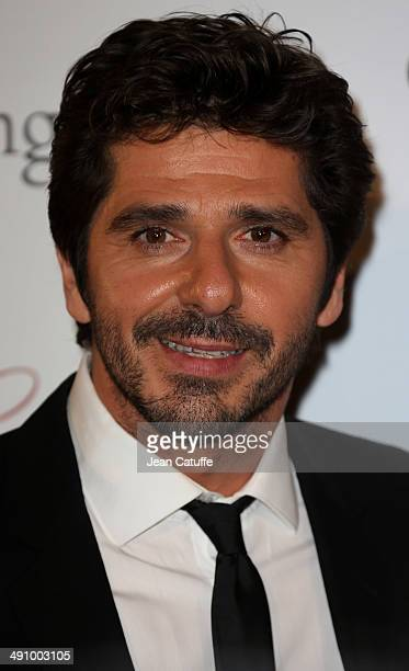 Patrick Fiori attends the 'Global Gift Gala' 2014 Charity Dinner At The Four Seasons Hotel George V on May 12 2014 in Paris France