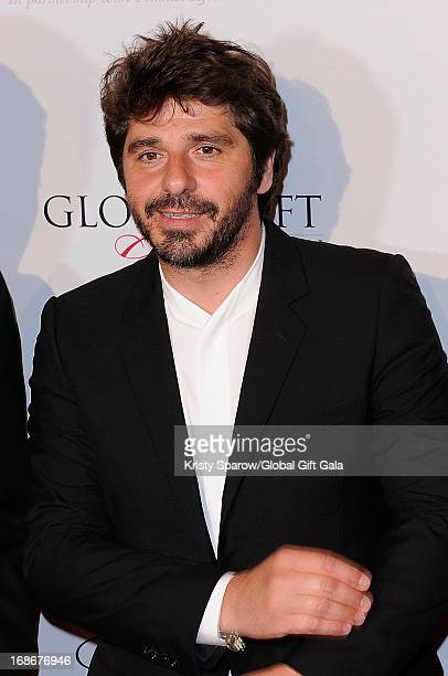 Patrick Fiori attends the 'Global Gift Gala' at Hotel George V on May 13 2013 in Paris France