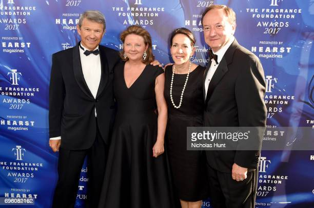 Patrick Firmenich Harry Fremont and guests attend the 2017 Fragrance Foundation Awards Presented By Hearst Magazines at Alice Tully Hall on June 14...